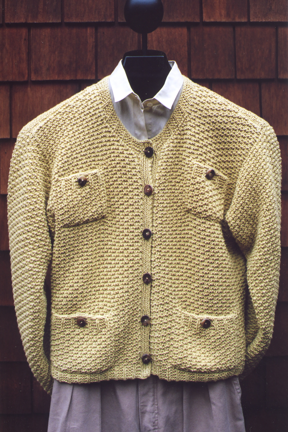 Knitting Pattern Chanel Style Jacket : Mari Knitting Patterns